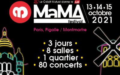 Rencontrez l'équipe See Tickets au MaMA Festival, du 14 au 15 Octobre2021!